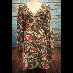 Lush Floral Print Dress - Size Large